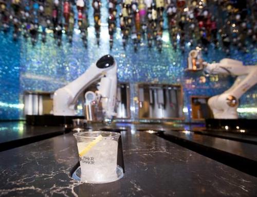 Las Vegas Sun Visits The Tipsy Robot